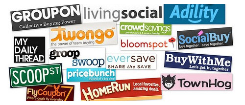 living social wowcher groupon which one is the most popular