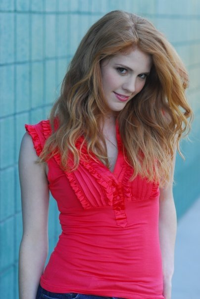 Commercial actress redhead