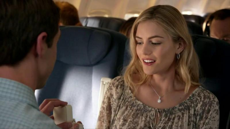 Who Is The Hot Ad Girl In The Jared Airplane Proposal Commercial