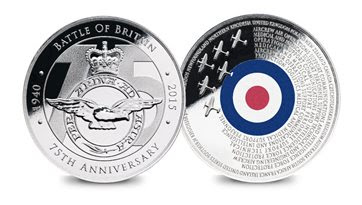Free Battle of Britain Commemorative Medal from the RAF Association packs history into its design