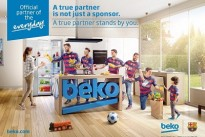 [Watch] .. Beko kicks off partnership as 'official partner of play' to FC Barcelona