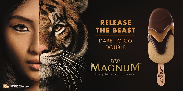 """[Watch] .. Magnum taps Shazam's technology for its new """"Release the Beast"""" global campaign"""