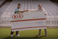 Watch : Kia catches a 1970s vibe with new promotional video for Surrey County Cricket Club competition