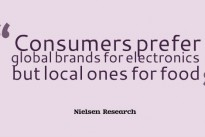 """Made in Britain? """"Six-in-ten UK consumers say country of origin is one of most important factors in brand choice"""" … Nielsen Research"""