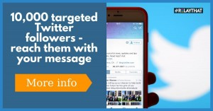 Vicky writes …  How I got to 10K targeted and engaging Twitter