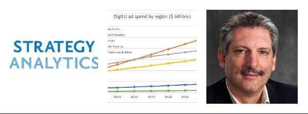 APAC to overtake North America as world's biggest digital ad market / Strategy Analytics