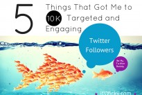 Vicky writes …. How I got to 10K targeted and engaging Twitter followers