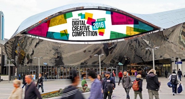 Ocean launches 7th annual search for the world's most creative digital out of home concepts