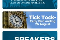 Conversion Conference : Tick Tock early bird offer ends this Friday 26 August