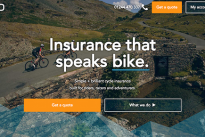 Creative Spark creates brand new website design and UX for Bikmo cycle insurance