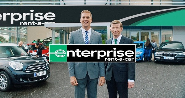 dare creates first enterprise rent a car ad in two years