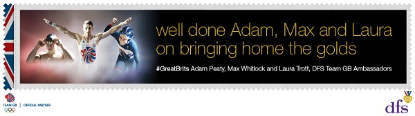 Dfs Congratulates Their Great Brits Ambassadors Laura