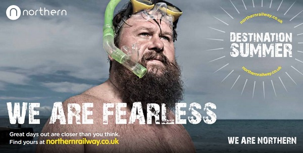 Northerners become legends and heroes in train company Northern's new ad campaign