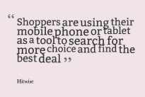 Research : Brits are likely to compare prices and look up product reviews while in-store before committing to a purchase