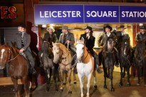 Did you see the seven mysterious riders in London?