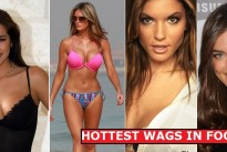 Footballers : Not only big money but great 'Wags' also…wow!