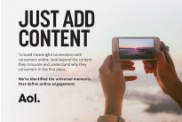 [Infographic] : New research from AOL reveals key consumer behaviours