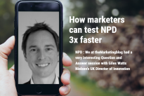 Research : How marketers can test NPD 3x faster : Exclusive interview with Giles Watts, Nielsen