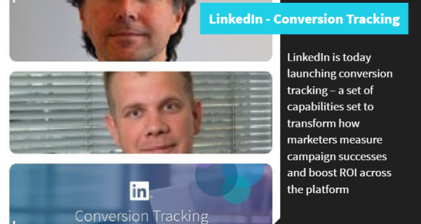 LinkedIn announces new conversion tracking capabilities to help marketers boost ROI