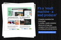 How to get a bespoke newsletter like this one for your company