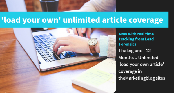 """Sales start before your salesman calls"" : Load your own unlimited articles"