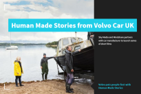 Volvo puts people first with Human Made Stories – in partnership with Sky Atlantic