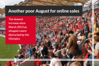 """Another poor August for online sales as Olympics win shoppers' attention"" / plus InternetRetailing webinars"