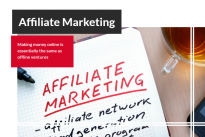 How to earn money from your website: Affiliate Marketing