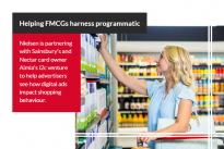 Research : Nielsen and Sainsbury's data venture helps FMCGs harness programmatic