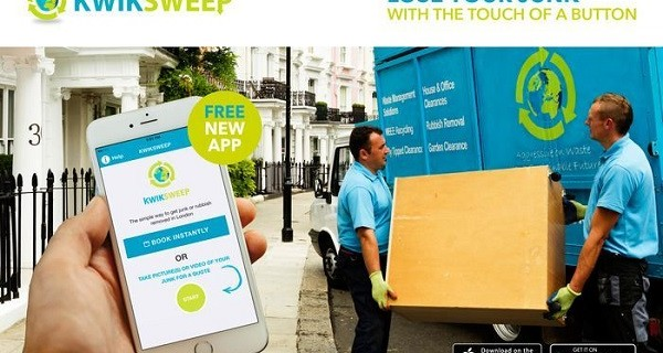 KwikSweep's innovative app receives recognition from two prestigious award ceremonies