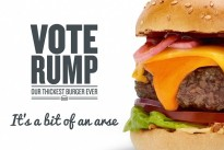 """""""Vote Rump for GBK's burgers""""  / YOU Agency"""