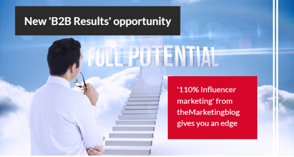 New B2B results opportunity .. Get unlimited, guaranteed articles in theMarketingblog