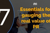 7 essentials for gauging the real value of PR and social media with comment from Ian McCawley, Acuity PR