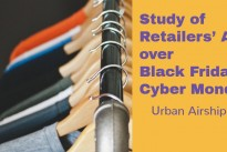 Study of Retailers' Apps over Black Friday/Cyber Monday Highlights Holiday Mobile Growth