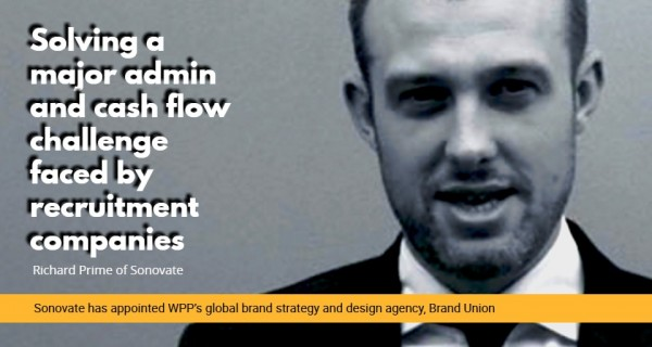 Sonovate has appointed WPP's global brand strategy and design agency, Brand Union
