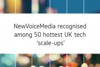 NewVoiceMedia recognised among 50 hottest UK tech 'scale-ups'