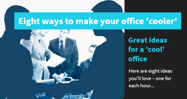 The office – lots of us spend eight-plus hours a day there