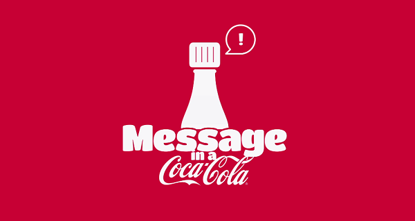 This Christmas surprise someone with a message in a Coca-Cola bottle