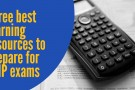 Three best learning resources to prepare for PMP exams
