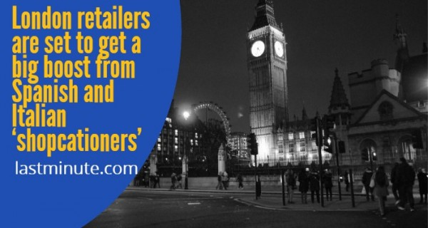 """""""Fly-in"""" shoppers to boost British retail this weekend, predicts lastminute.com group"""