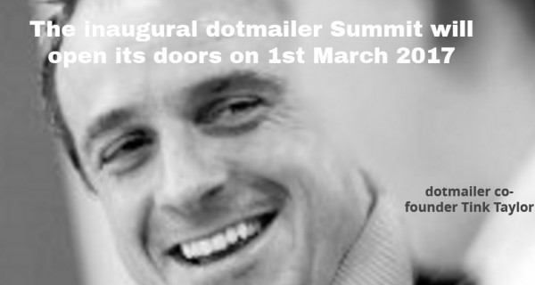 Join us at #dotmailersummit. Don't miss our early-bird pricing. Save 50% with tickets at just £149.99