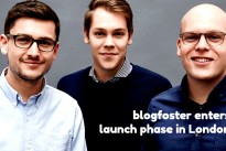 German technology leader for blog marketing blogfoster enters launch phase in London
