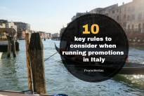 A look at the laws of running prize promotions in Italy … PromoVeritas