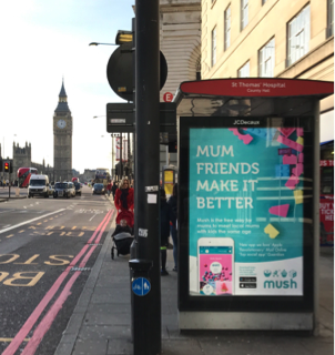Mush unveils new Outdoor campaign in London  ..  VCCP Media