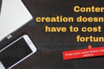 How to design great content without expensive software