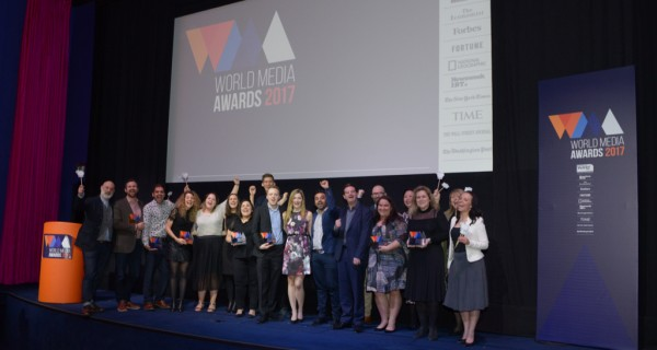 Tata Motors drives away with the Top Prize at the 2017 World Media Awards