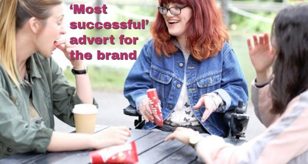 'Most successful' advert for the brand in 10 years