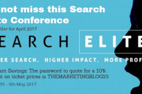 Events : Create bespoke newsletters for your event similar to this one for Search Elite