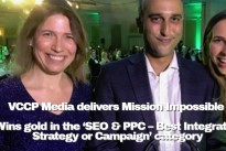 Drum Search Awards  : VCCP Media delivers Mission Impossible – wins gold in the 'SEO & PPC – Best Integrated Strategy or Campaign' category