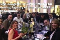 "What a win! Huge congrats to <a href=""https://twitter.com/VCCPMedia"">@VCCPMedia</a> for winning Agency of the Year 2017 at <a href=""https://twitter.com/hashtag/theconnies?src=hash"">#theconnies</a>"